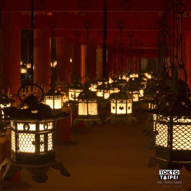 【春日大社萬燈籠】1年只有3天 3000座燈籠同時點亮祈福