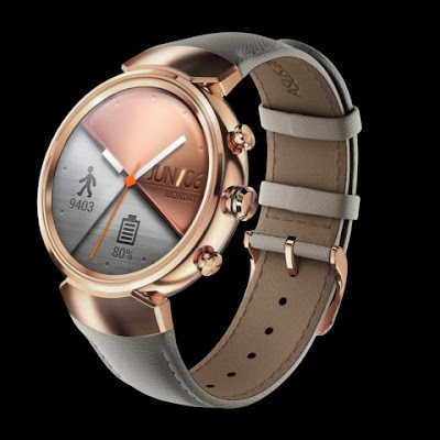 ZenWatch 3 Rose Gold With Leather Design