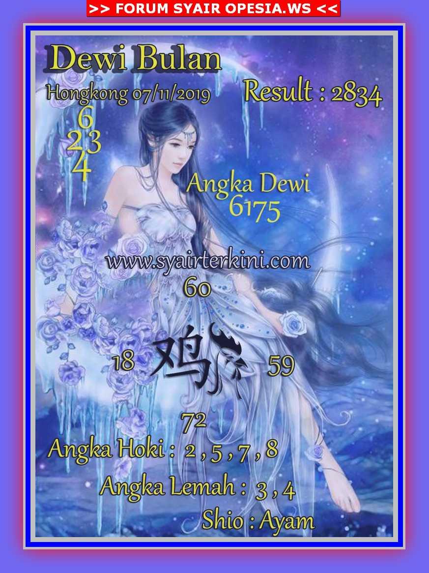 Kode syair Hongkong Kamis 7 November 2019 65