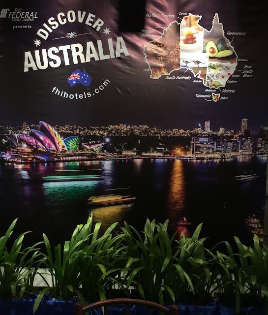 Nikmati Juadah Australia (Discover Australia) di Hotel Federal KL