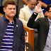 Paolo Duterte & Mans Carpio appears before the Senate