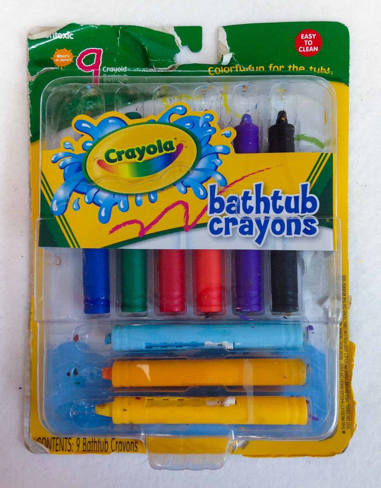 Crayola Bathtub Crayons And Markers What S Inside The Box