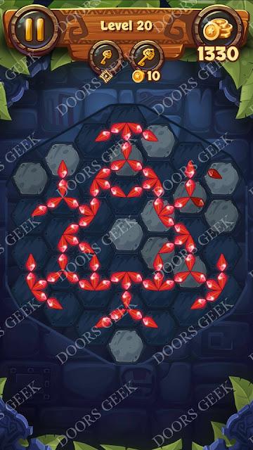 Gems & Magic [Indigo] Level 20 Solution, Walkthrough, Cheats