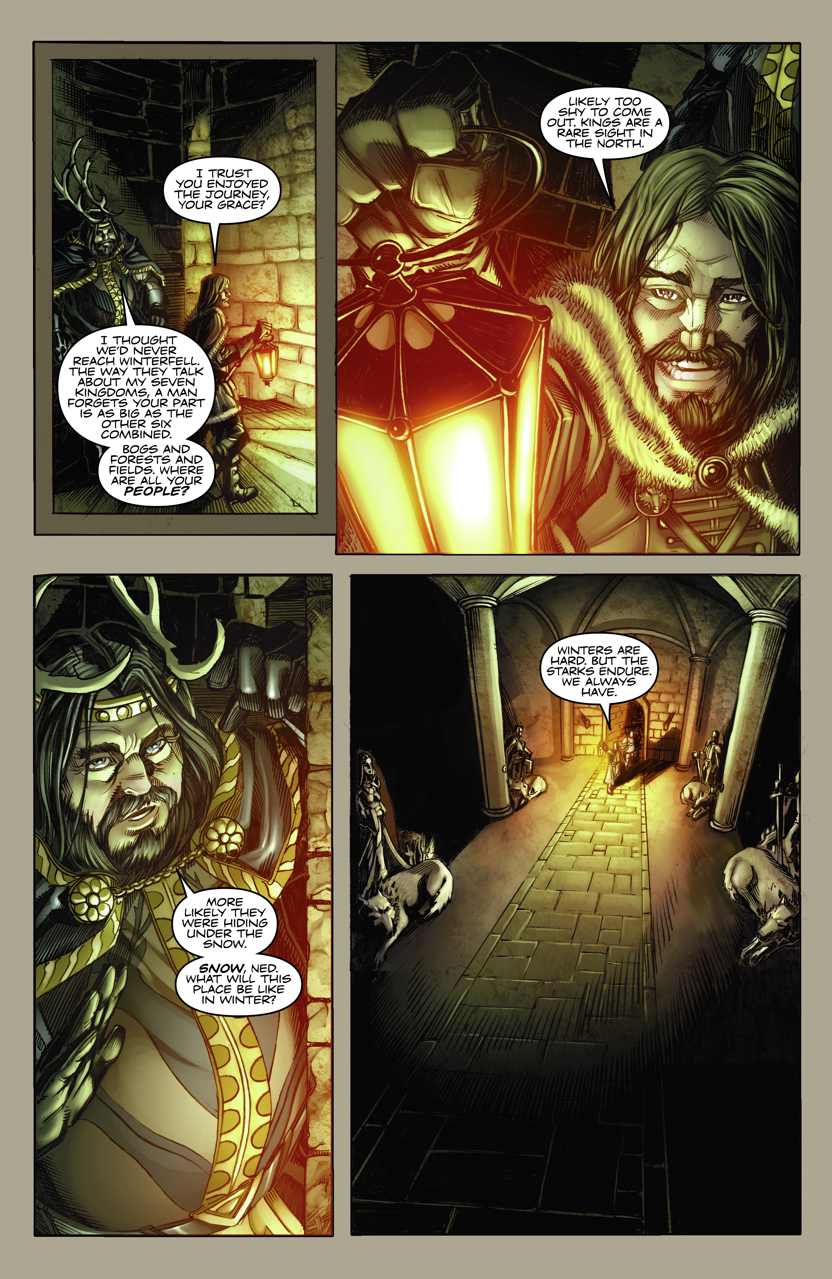 Read online A Game Of Thrones comic -  Issue #2 - 5