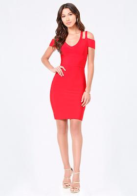 fotos de Vestidos de Noche Rojos