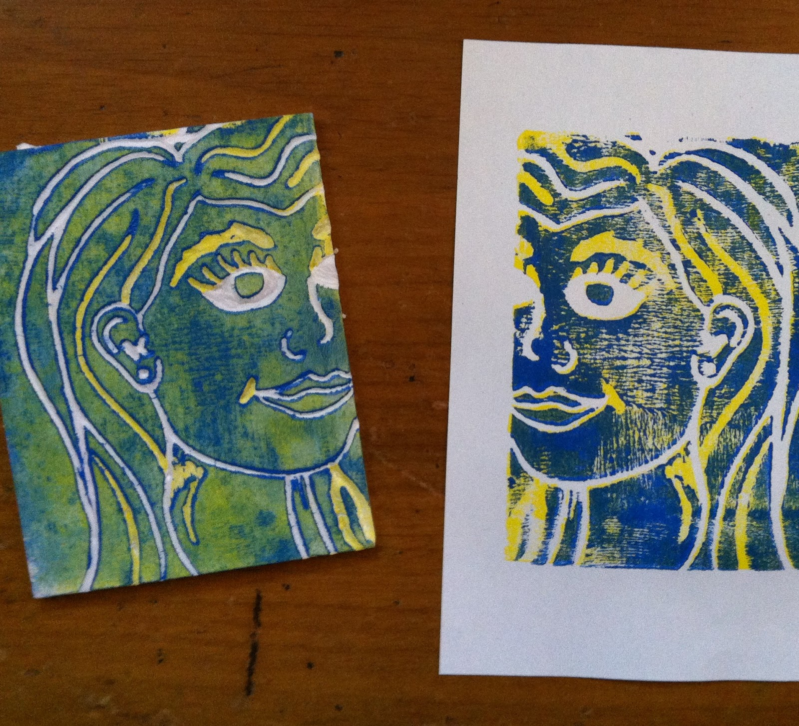 This week in Open Studio Sessions - Styrofoam Printmaking ...