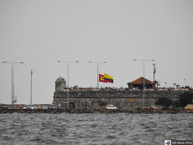 Cidade Amuralhada - Muralhas de Cartagena: melhor pôr do sol