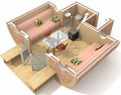 vivienda móvil con energía solar