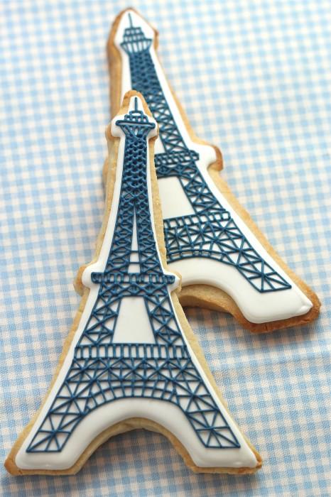 Joaninha Pano e Arte Eiffel Tower