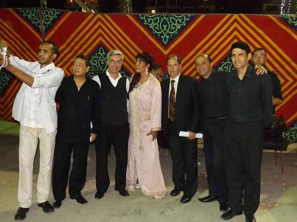 سفير النيل الكاتب محمد هاشم يقدم حفل ليالى رمضان
