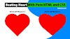 Create a Beating Heart with Pure HTML and CSS