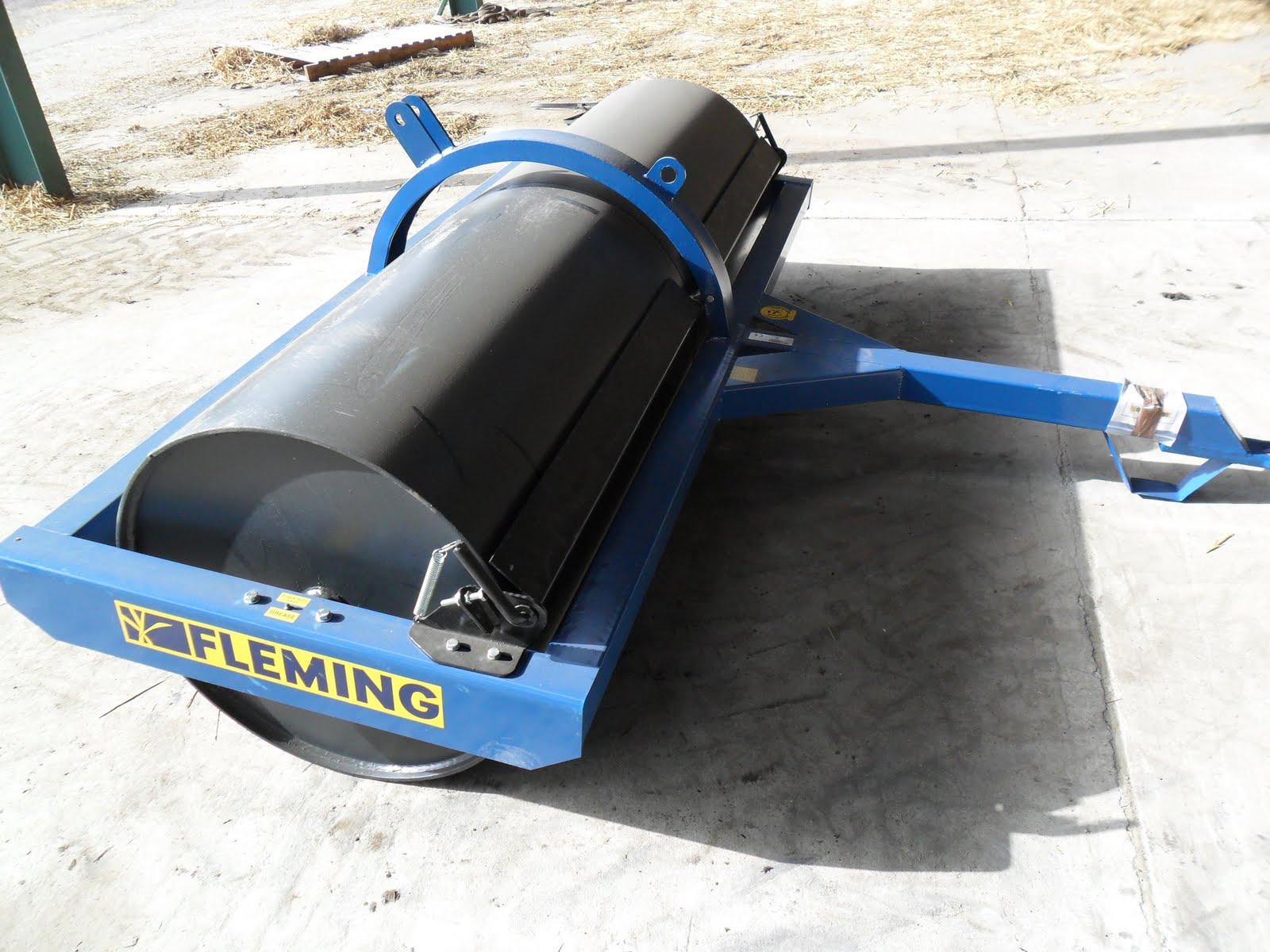 Used Tractors Machinery And Plant New Fleming 8ft Roller