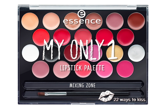 essence my only 1 lipstick palette
