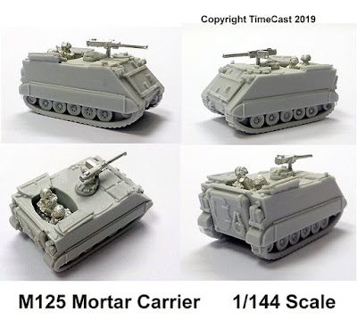 M125 Mortar Carrier