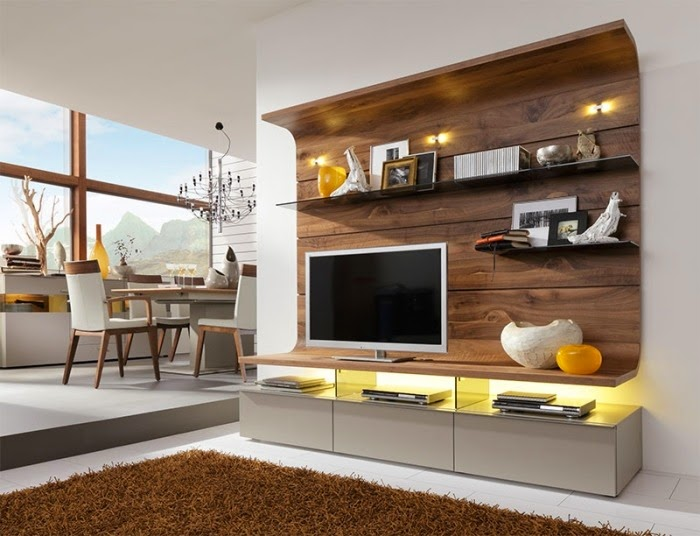 living room wall units with storage open small kitchen ideas for unit designs rooms strong orange and red plastic