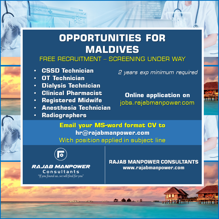 Opportunities for Maldives