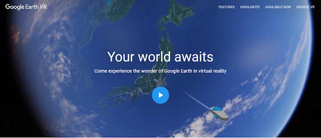 Google Earth VR Bisa Membuat Perjalanan Virtual Menjadi Sangat Nyata
