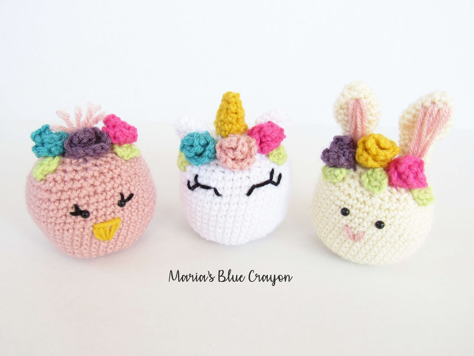 Crochet Easter Basket Stuffed Toys Free Crochet Patterns Marias