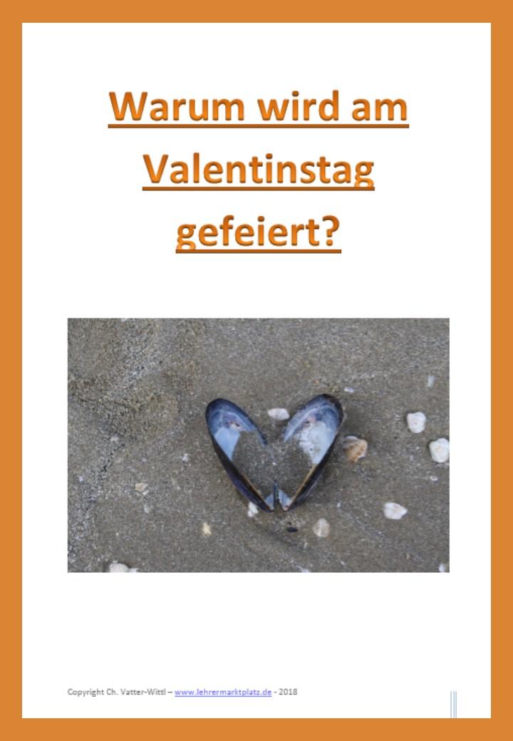 Uber 14 Unterrichtsmaterialien Zum Valentinstag Learn German