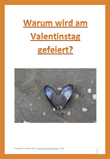 """Zahlreiche Aufgaben für die Grundschule zum Thema """"Warum wird am Valentinstag gefeiert?"""""""