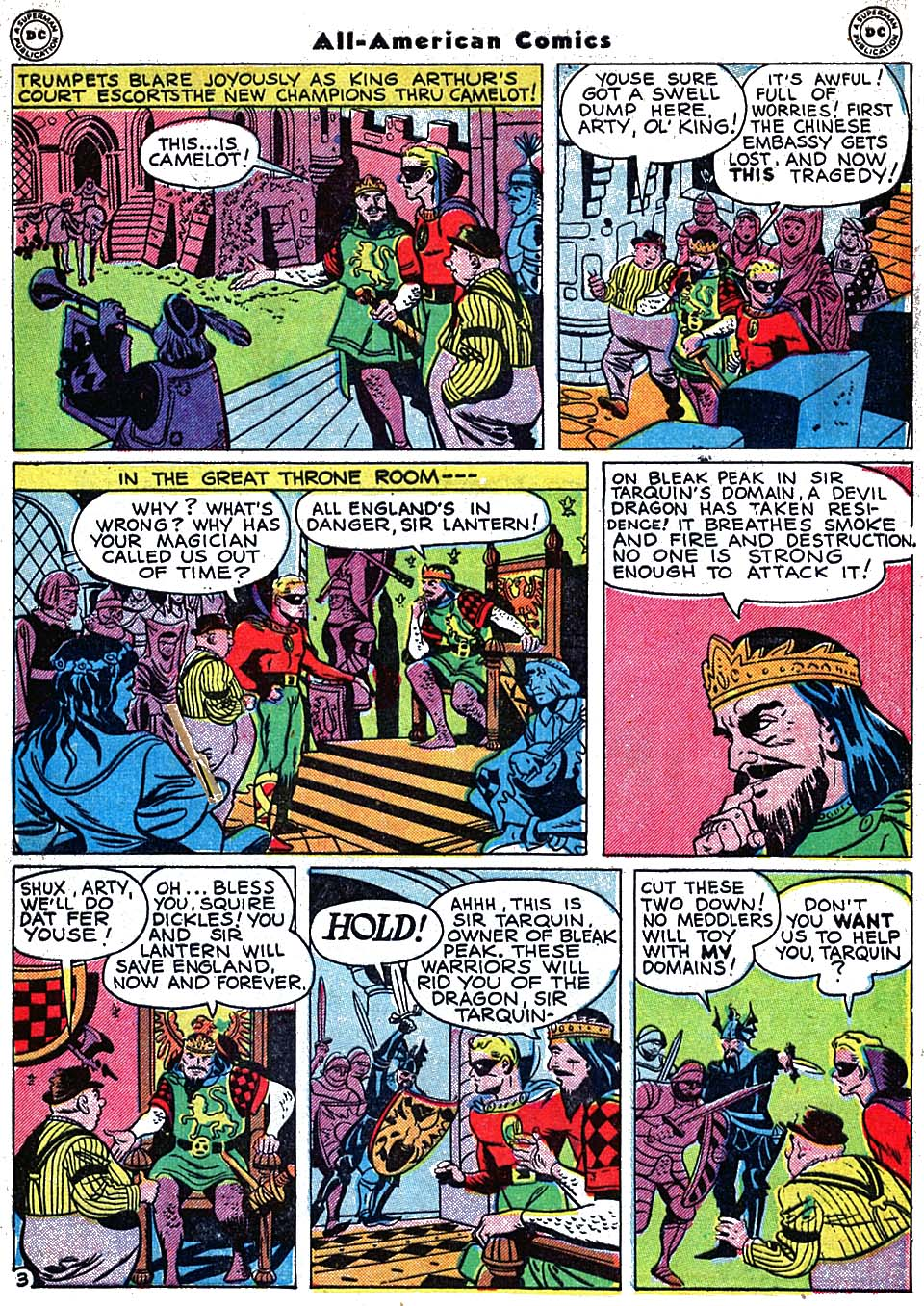 Read online All-American Comics (1939) comic -  Issue #72 - 5