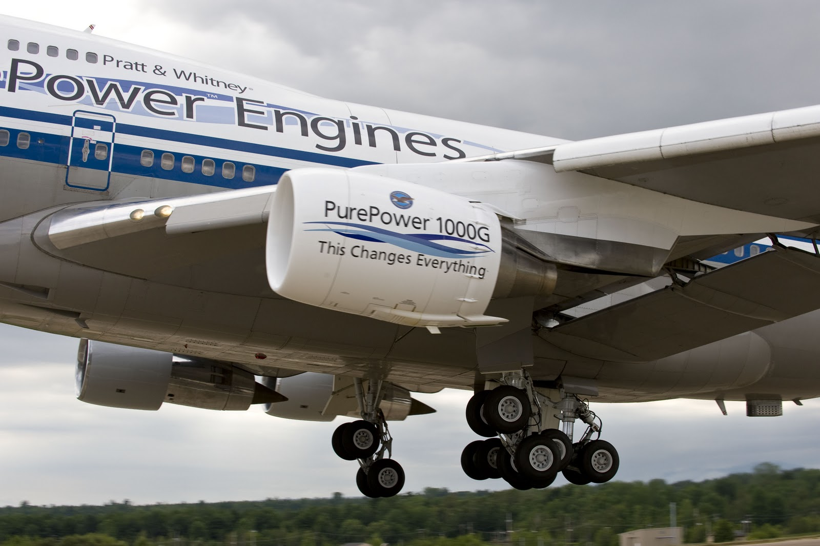 Pratt Whitney Pure Power Geared Turbofan Engine Family