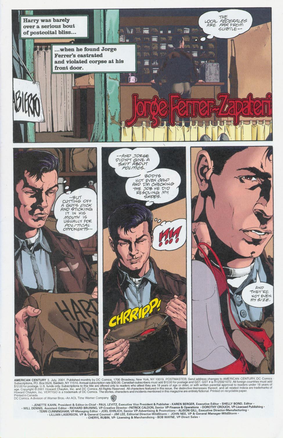 Read online American Century comic -  Issue #3 - 2
