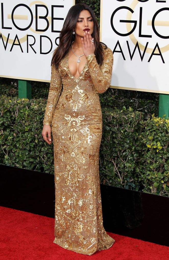 Priyanka Chopra – 74th Annual Golden Globe Awards in Beverly Hills