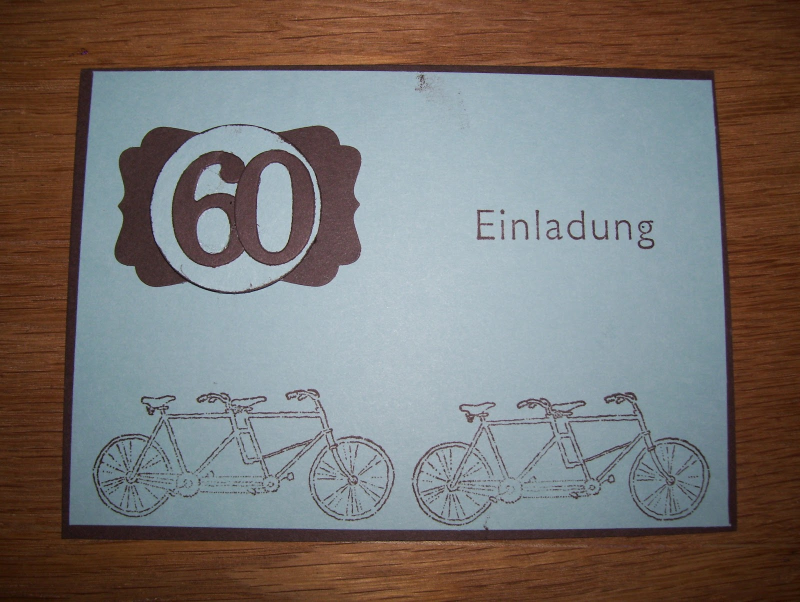 Zum 60 Geburtstag