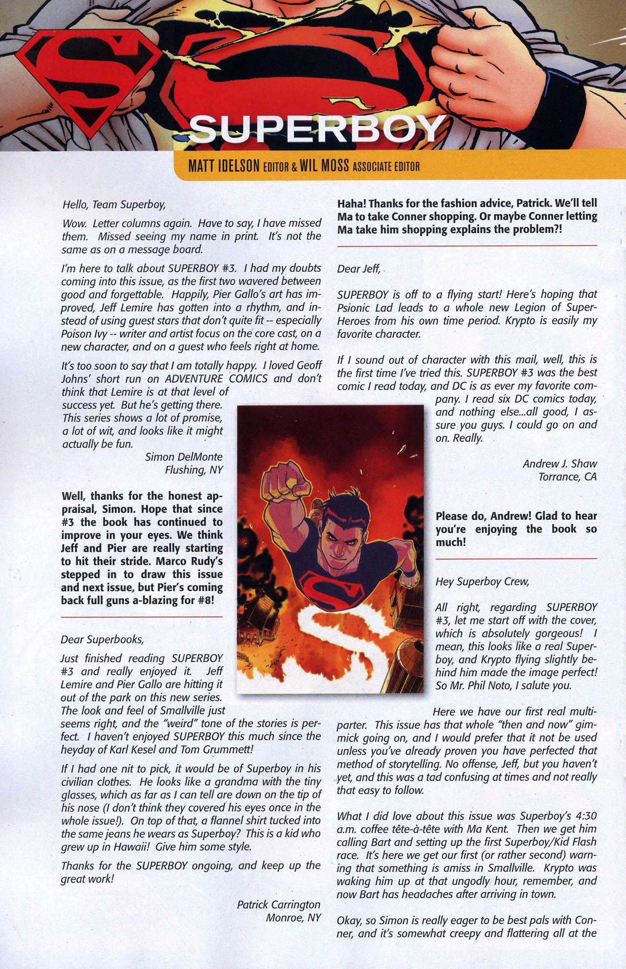 Superboy [I] Issue #6 #6 - English 25