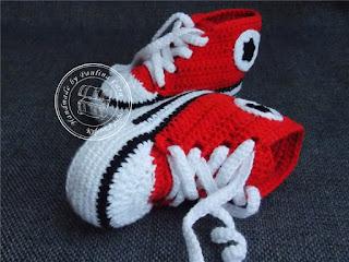 Czerwone trampeczki