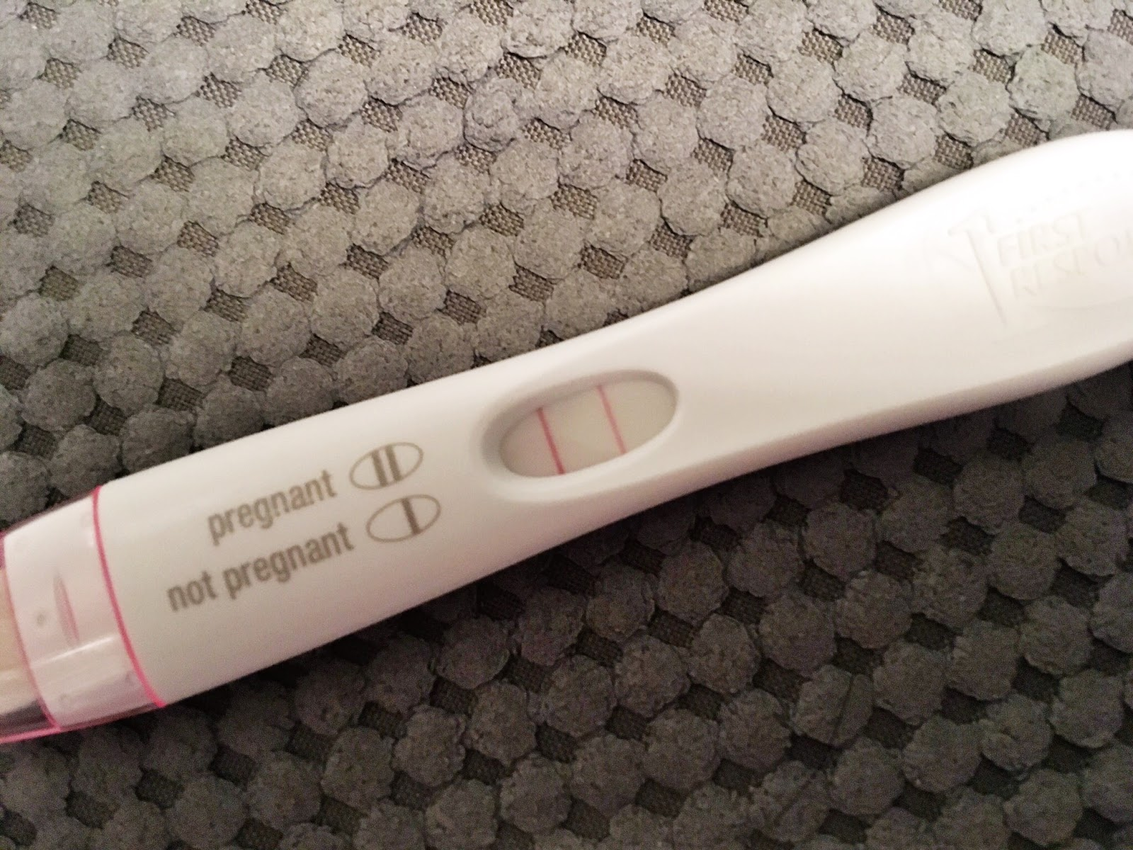 klonopin and pregnancy test