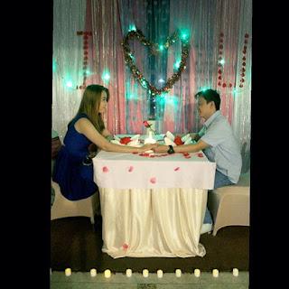 Valentine bersama pasangan