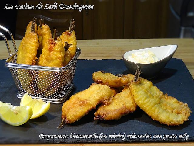 Boquerones Bienmesabe (en Adobo) Rebozados Con Pasta Orly