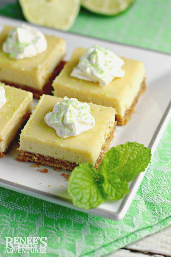 Easy Key Lime Pie Bars