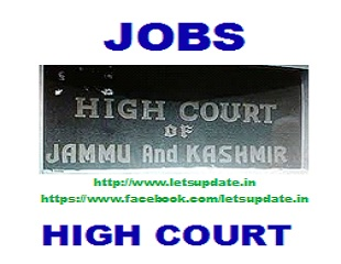 jobs @ district judge-letsupdate