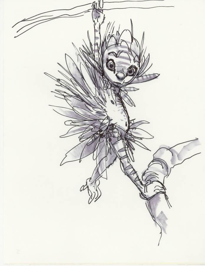 10-Aaron-Blaise-Creature-Sketches-www-designstack-co