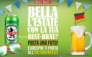 Logo Best Brau e Eurospin: vinci 15 soggiorni per l'Oktoberfest