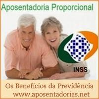 A inexistência de aposentadoria por tempo proporcional no INSS