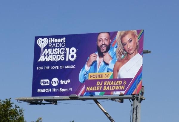 iHeart Radio Music Awards 2018 billboard