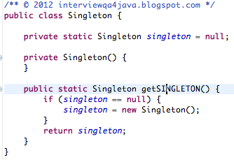 How to Use Singleton Design Pattern in Java