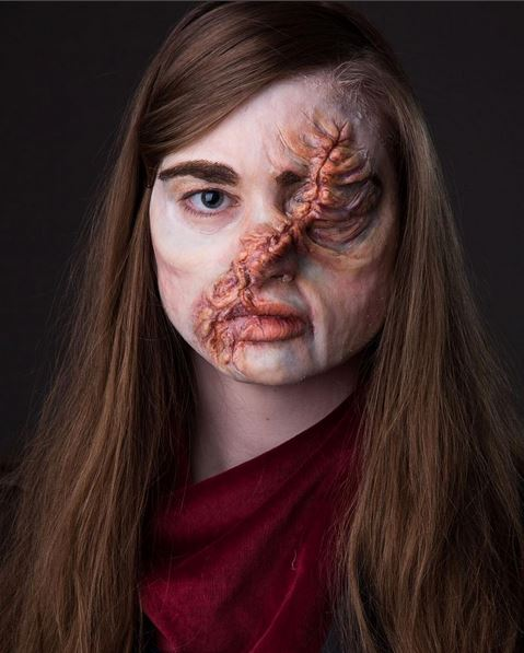 Full scar effects Hester Shaw cosplay