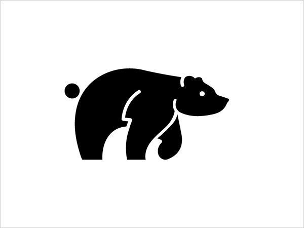 Contoh Desain Logo Negative Space - 30