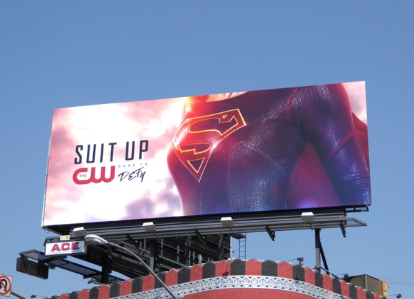 Supergirl season 2 teaser billboard