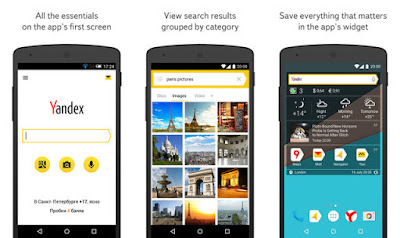 Yandex App For Android Support Search Voice