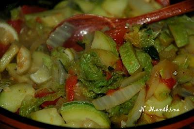 Соте из кабачков — легкий ужин или вкусный гарнир