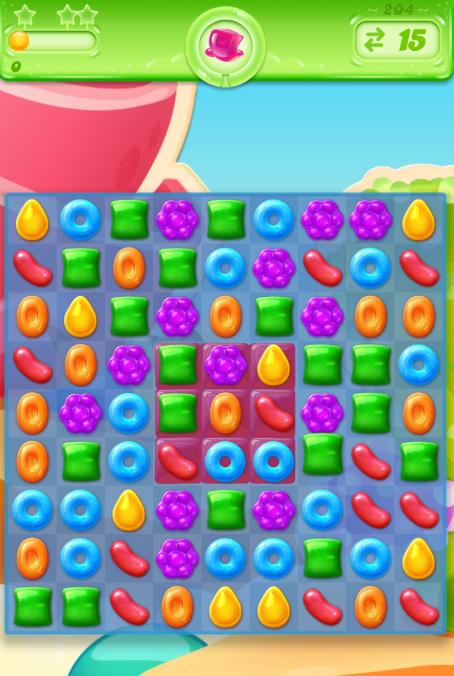 Candy Crush Jelly Saga 204