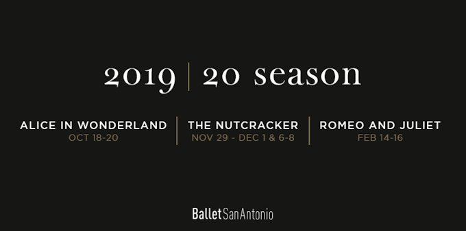 San Antonio Ballet Measuring Up?, Subscribe to the 2019 | 20 SEASON.