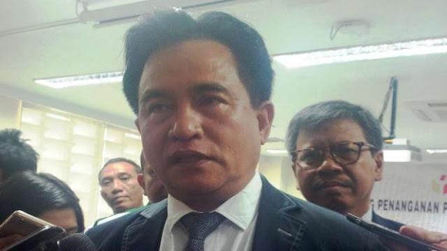 Dipimpin Yusril, PBB Isyaratkan Merapat ke Kubu Jokowi-Ma'ruf