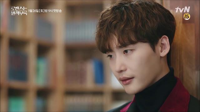 """Lee Jong Suk Berbagi Foto Dibalik Layar """"Romance is a Bonus Book"""""""